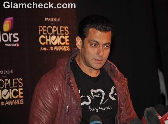salman Khan at Peoples Choice Awards 2012