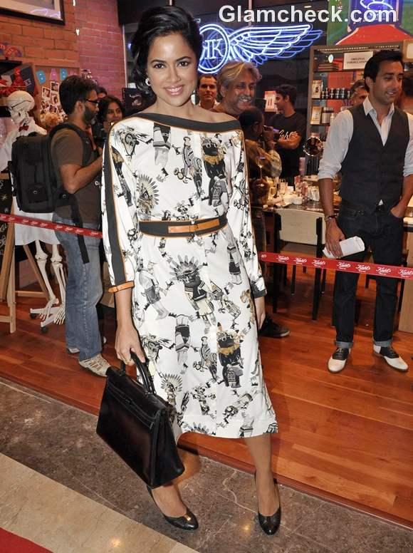 sameera reddy Kiehls Mumbai Launch