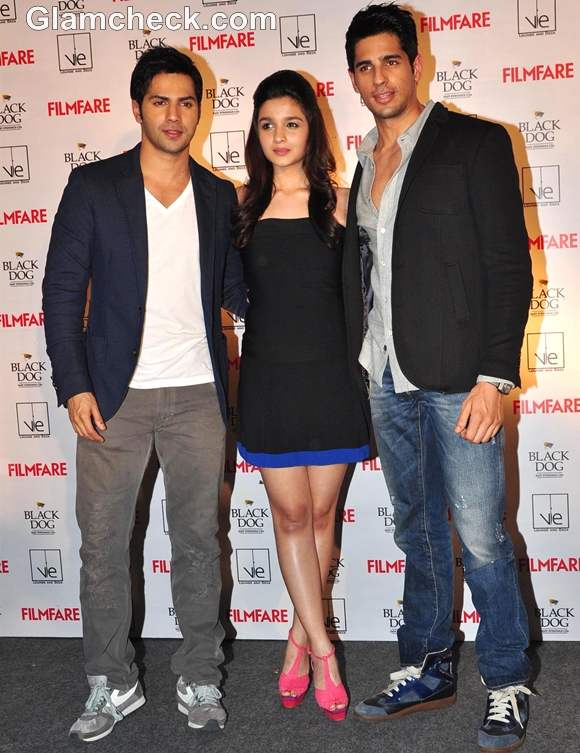 student of the year cast film fare october launch