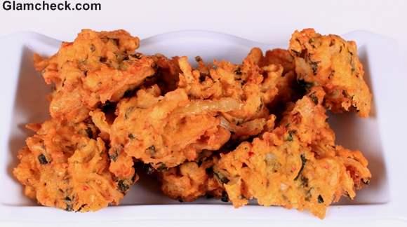 vegetable pakora Indian Snacks Diwali