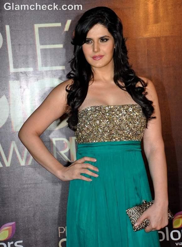 zareen khan at Peoples Choice Awards 2012