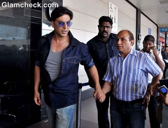 Airport Style-Akshay Kumar-khiladi 786