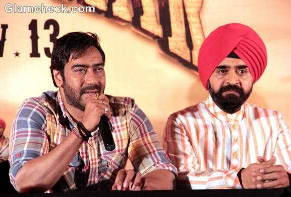 Ajay Devgan Resolves Son of Sardar Conflicts at Screening press Meet