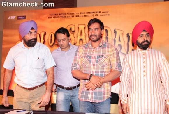 Ajay Devgan Son of Sardar Screening press Meet