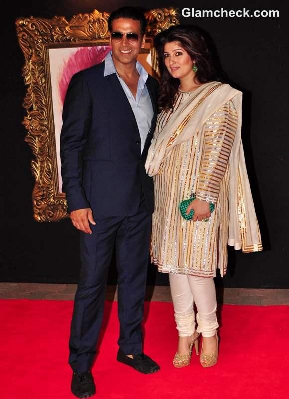 Akshay Kumar Twinkle Khanna JTHJ premiere