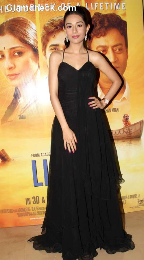 Amrita Raoat the Premiere of Life of Pi in Mumbai