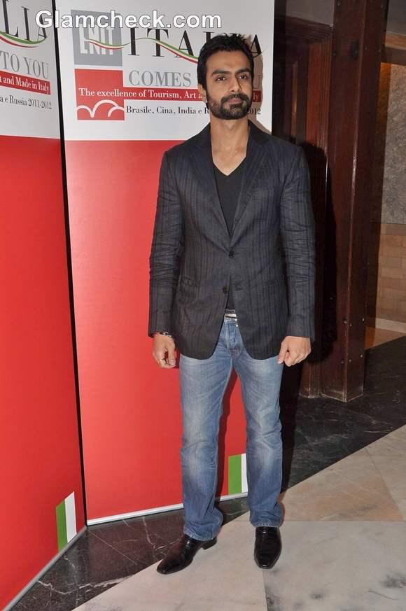 Ashmit Patel gala dinner party Italian Tourism Board