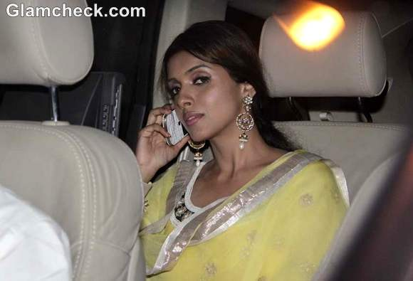 Asin at amitabh Bachchan Diwali Bash
