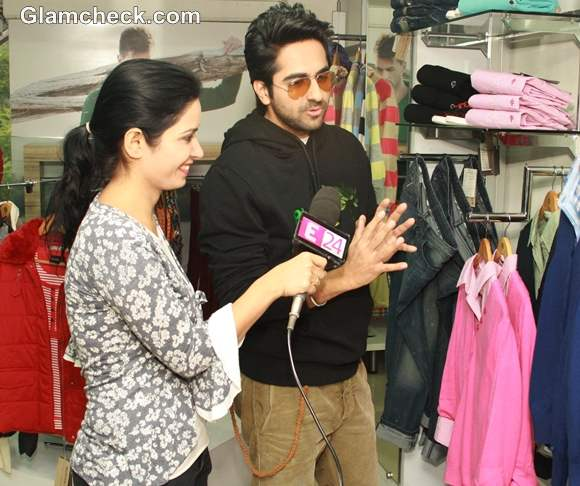 Ayushman Khurana launches Woodlands Fall Winter Collection-2