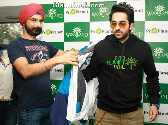 Ayushman Khurana launches Woodlands Fall Winter Collection
