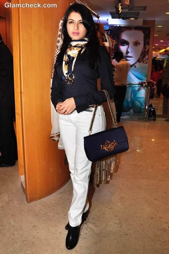 Bhagyashree At The Launch Of Ritu Beri S Collection At