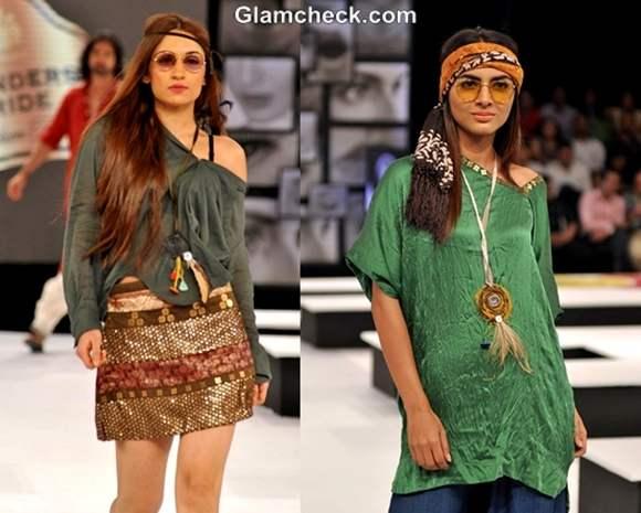 Blenders Pride Fashion Tour 2012 Asmita Marwa collection hippie