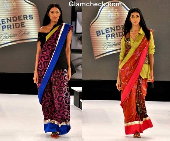 Blenders Pride Fashion Tour 2012 Asmita Marwa collection