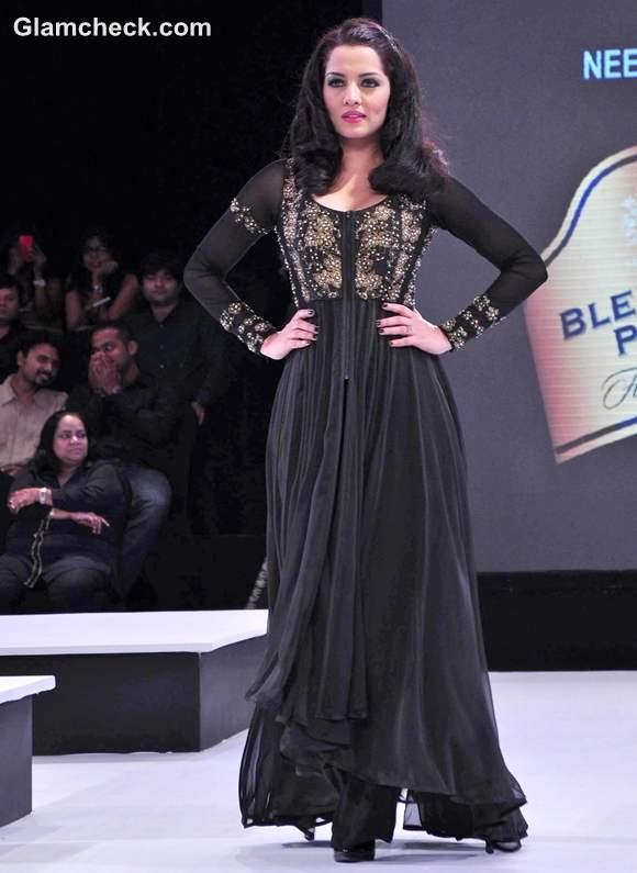 Blenders Pride Fashion Tour 2012 Mumbai Celina Jaitley for Neeta Lulla