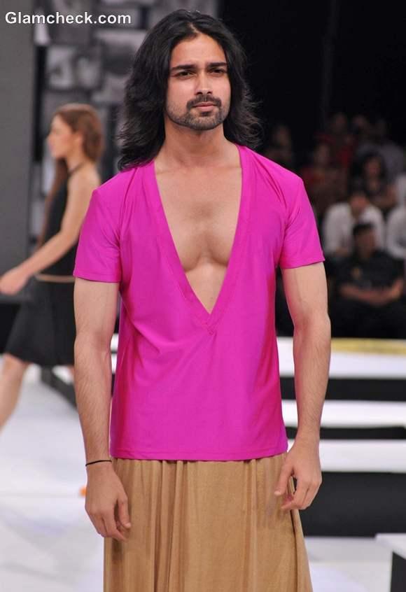 Blenders Pride Fashion Tour 2012 mumbai Wendell Rodricks collection men