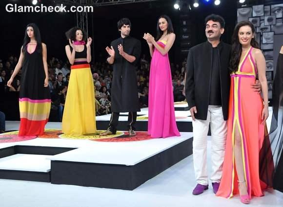 Blenders Pride Fashion Tour 2012 mumbai Wendell Rodricks show
