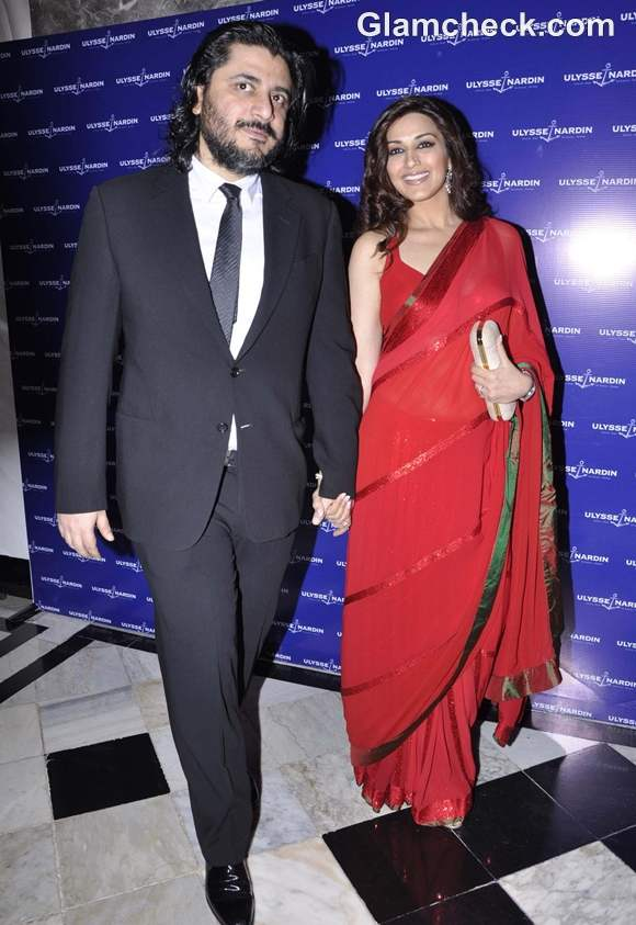 Sonali Bendre Goldie Behl unveiling of Ulysse Nardin Limited Edition watch in Mumbai