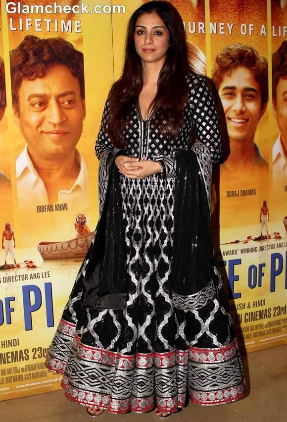 Bollywood actress Tabu Premiere of Life of Pi in Mumbai