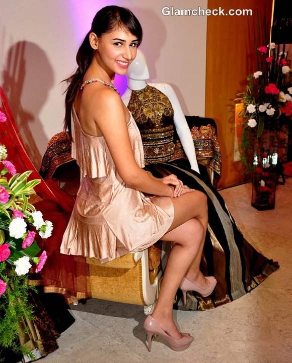 Hasleen Kaur at Kimaya Store Launch Ritu Beri Festive Collection