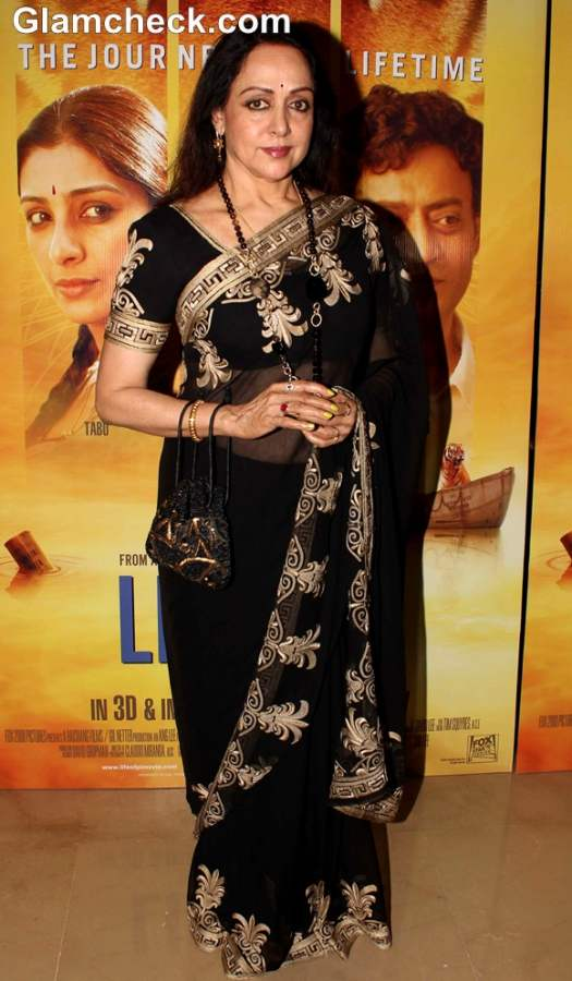 Hema Malin at the Premiere of Life of Pi in Mumbai