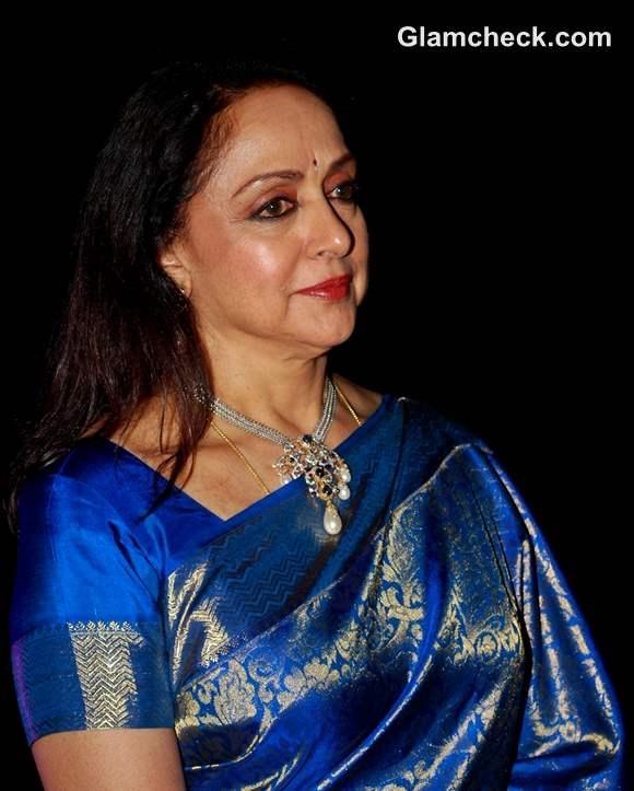 Hema Malini beautiful Inaugurates 3rd Annual Jaya Smriti