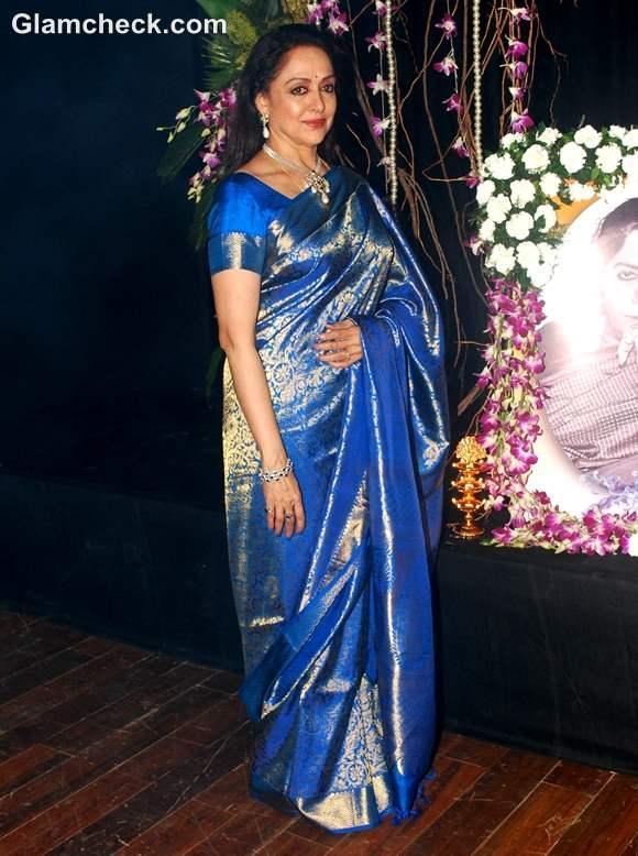 Hema Malini saree Inaugurates 3rd Annual Jaya Smriti