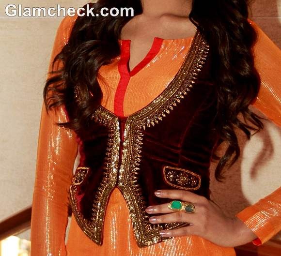Indian attire embroidered waistcoats for ethnic look bollywood style