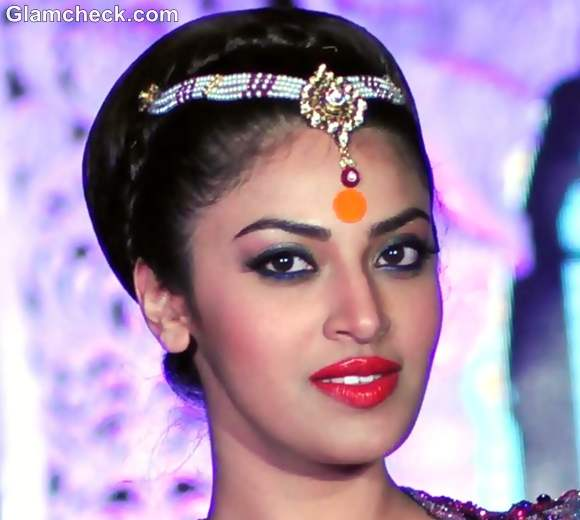 Indian bridal makeup trend 2012 orange