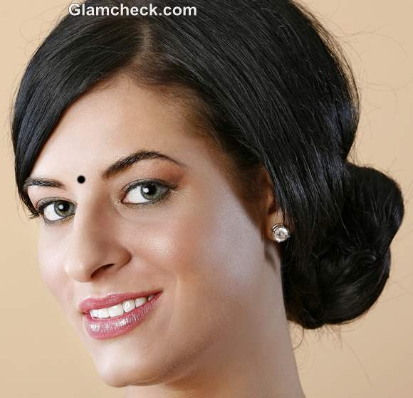 Indian Hairstyle How To: Braided Side Bun