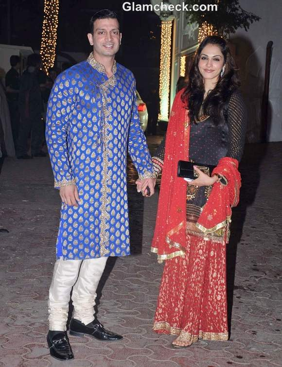 Isha Koppikar Narang husband Timmy Narang Shilpa Shetty Diwali Bash