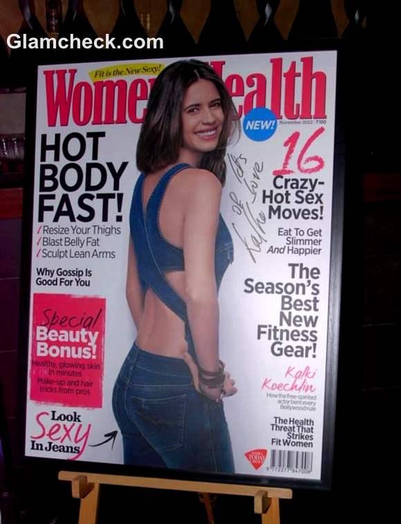 Kalki Koechlin Womens Health Magazine cover october 2012