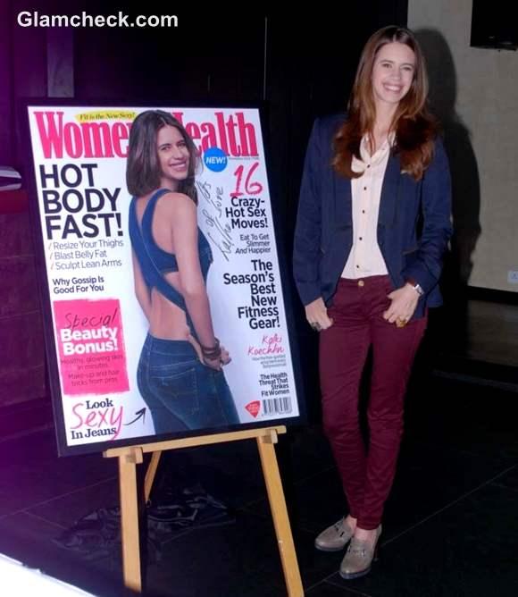Kalki Koechlin at Womens Health Magazine Launch october issue 2012