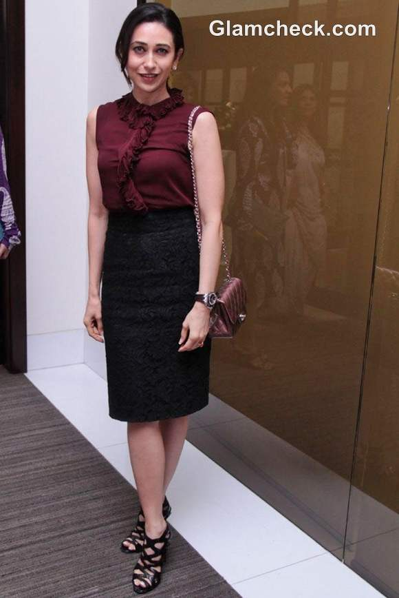 Karisma Kapoor at Nirav Modis jewels event