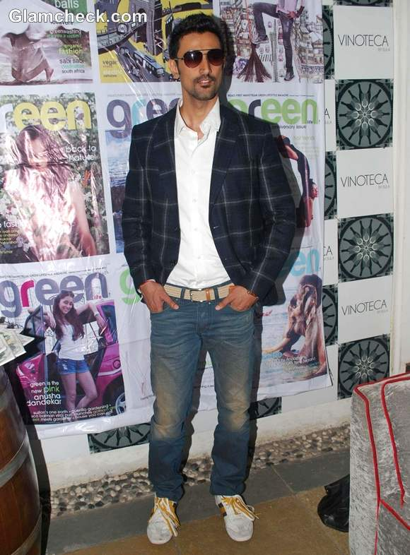 Kunal Kapoor Launches Special Anniversary Issue Green Life Magazine