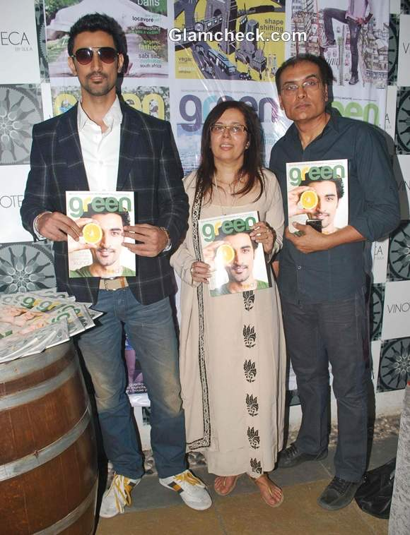 Kunal Kapoor Launches Special Anniversary Issue of Green Life Magazine