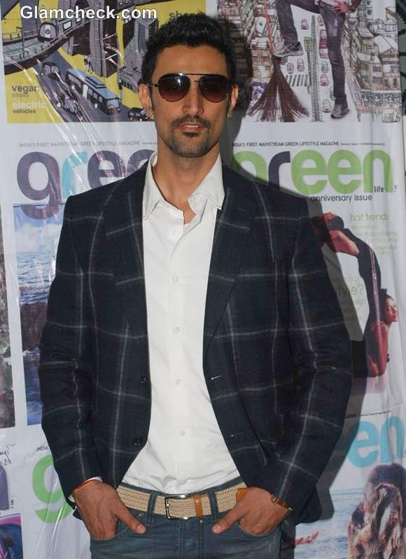 Kunal kapoor Green Life Magazine launch of food issue