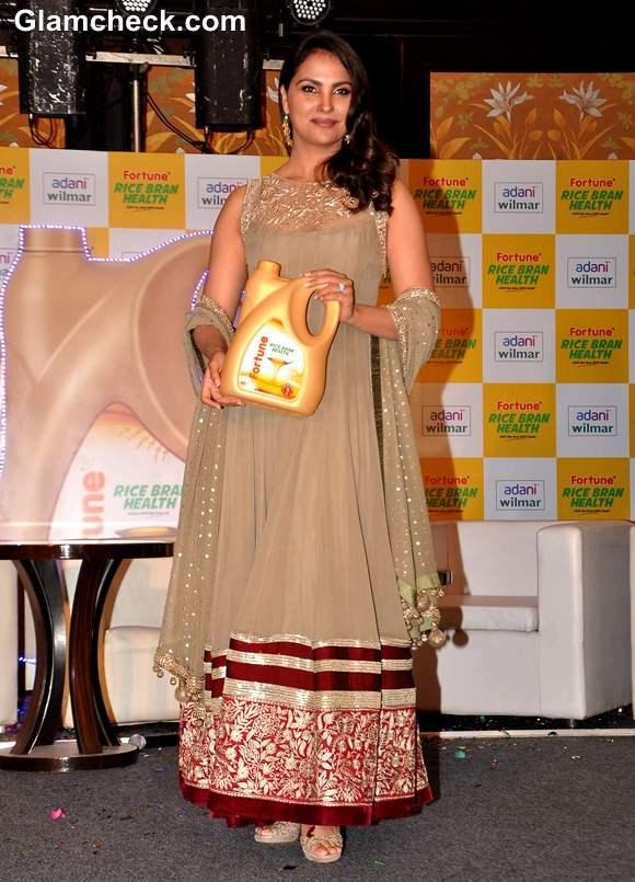 Lara Dutta Launches Fortune Rice Bran Oil in Mumbai