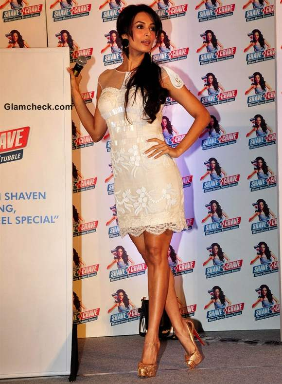 Malaika Arora Khan Gillette Shave or Crave promotions