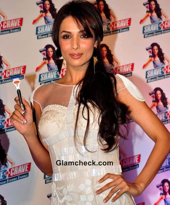 Malaika Arora Khan promotes Gillette Shave or Crave