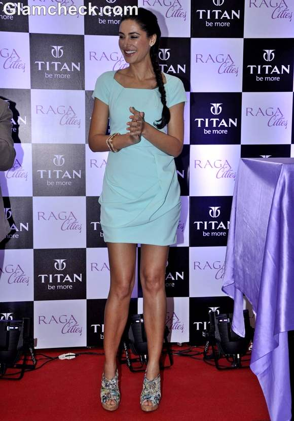 Nargis Fakhri at Titans Latest Watch Collection launch