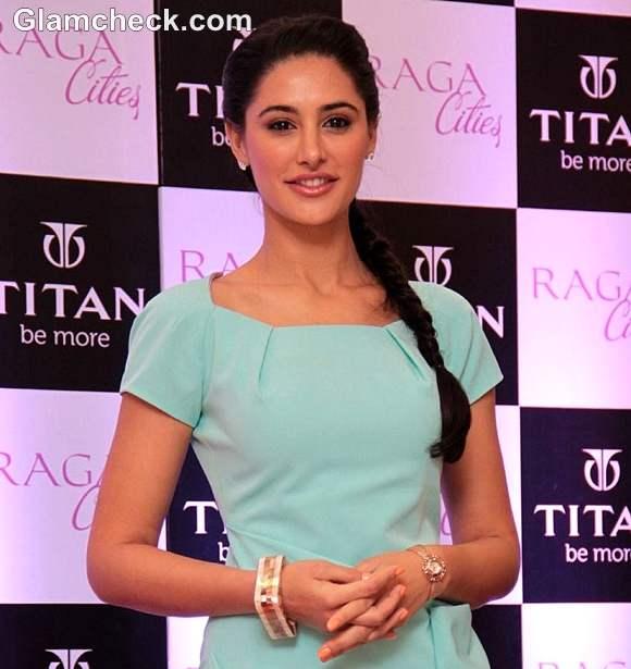 Nargis Fakhri launches Titan Ragas Cities Collection