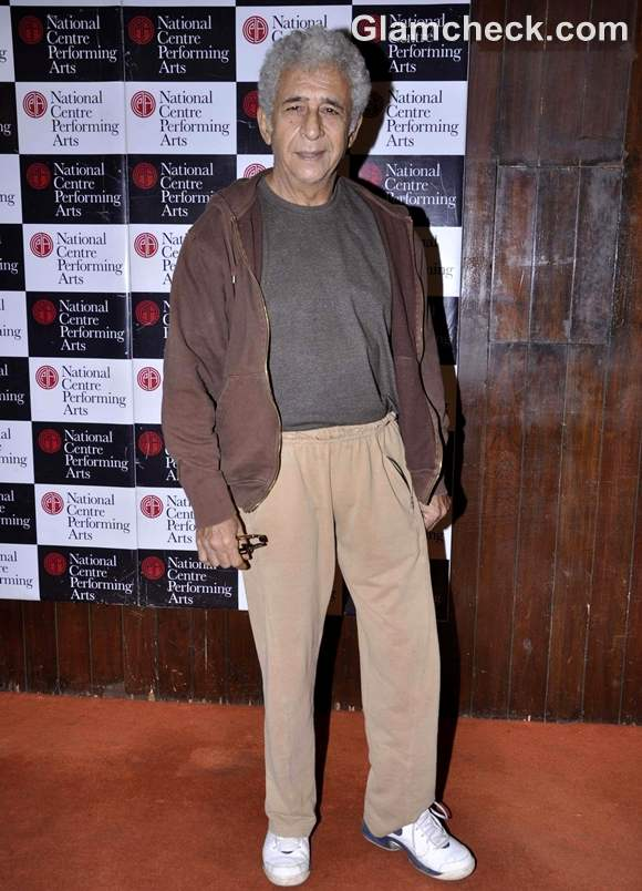 Naseeruddin Shah at NCPA Centrestage festival in Mumbai