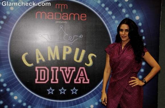 Neha Dhupia India Fest 2013 in Mumbai Thakur College