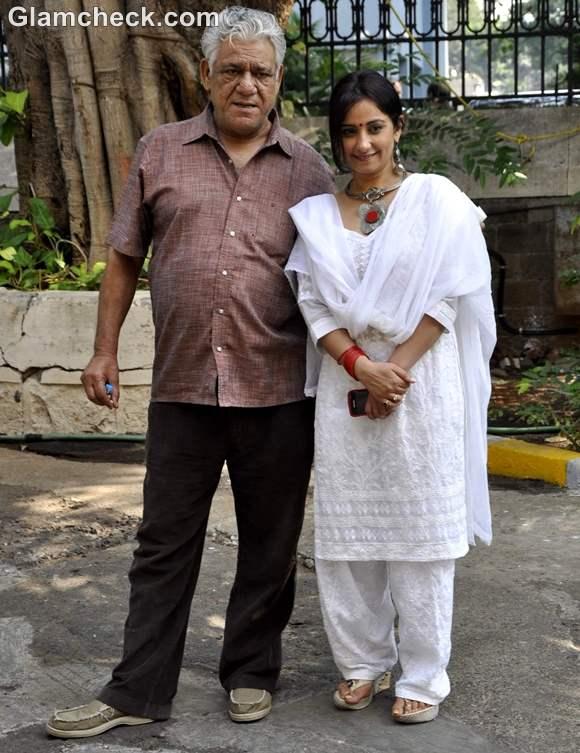 Om Puri and Divya Dutta at NCPA Centrestage festival in Mumbai