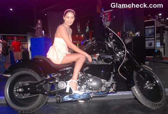 Poonam Pandey Promotes FlipperTech Gaming Device