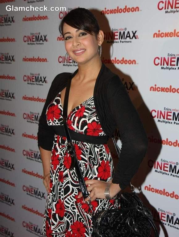 Preeti Jhangiani at Keymon Ache Movie Premiere