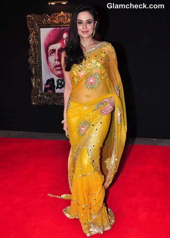Preity Zinta JTHJ premiere Mumbai