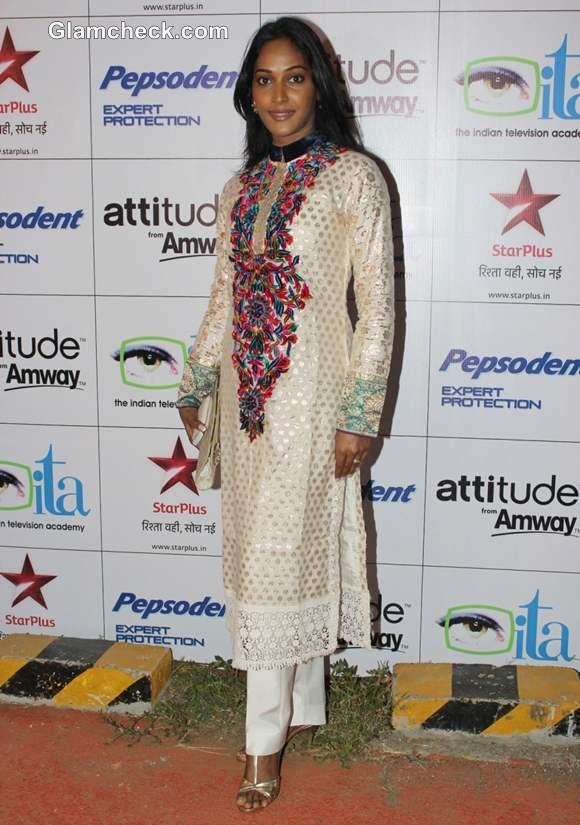 Rajshree Thakur Indian Television Awards 2012