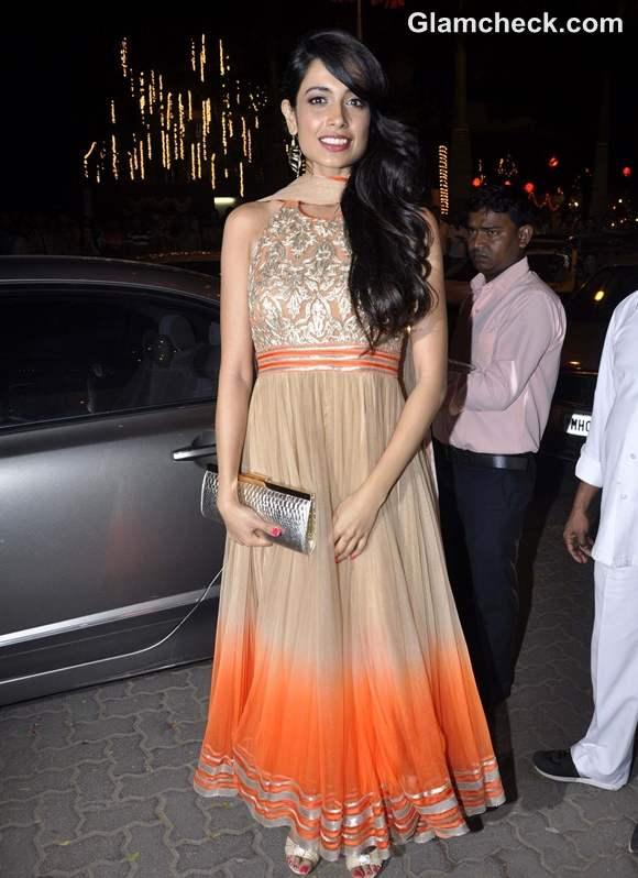 Sahar Jane Dias at amitabh Bachchan Diwali Bash
