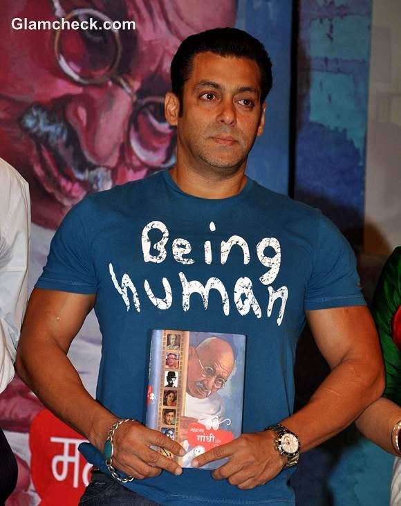 Salman Khan Launches New Book Gandhi
